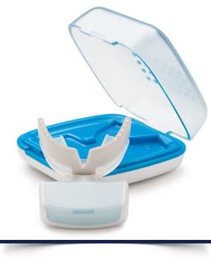 OrthoPulse aligner with case Brayces Orthodontics